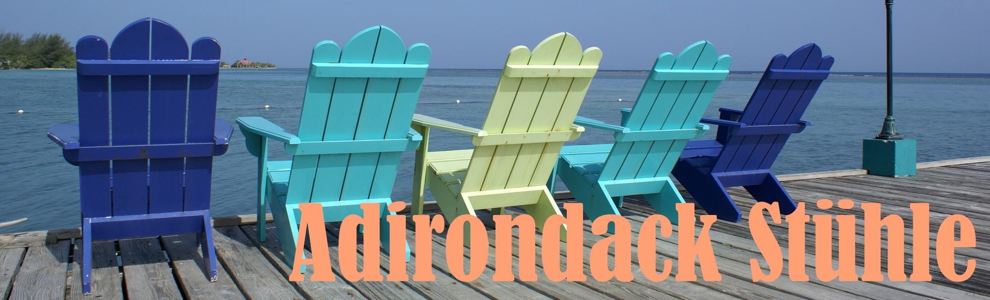 Adirondack Stühle